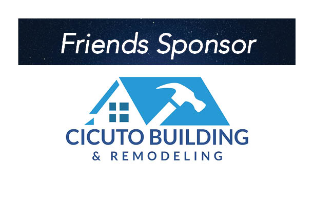 Cicuto Building & Remodeling, Friends Sponsor