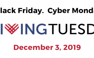 Giving Tuesday is December 3rd!