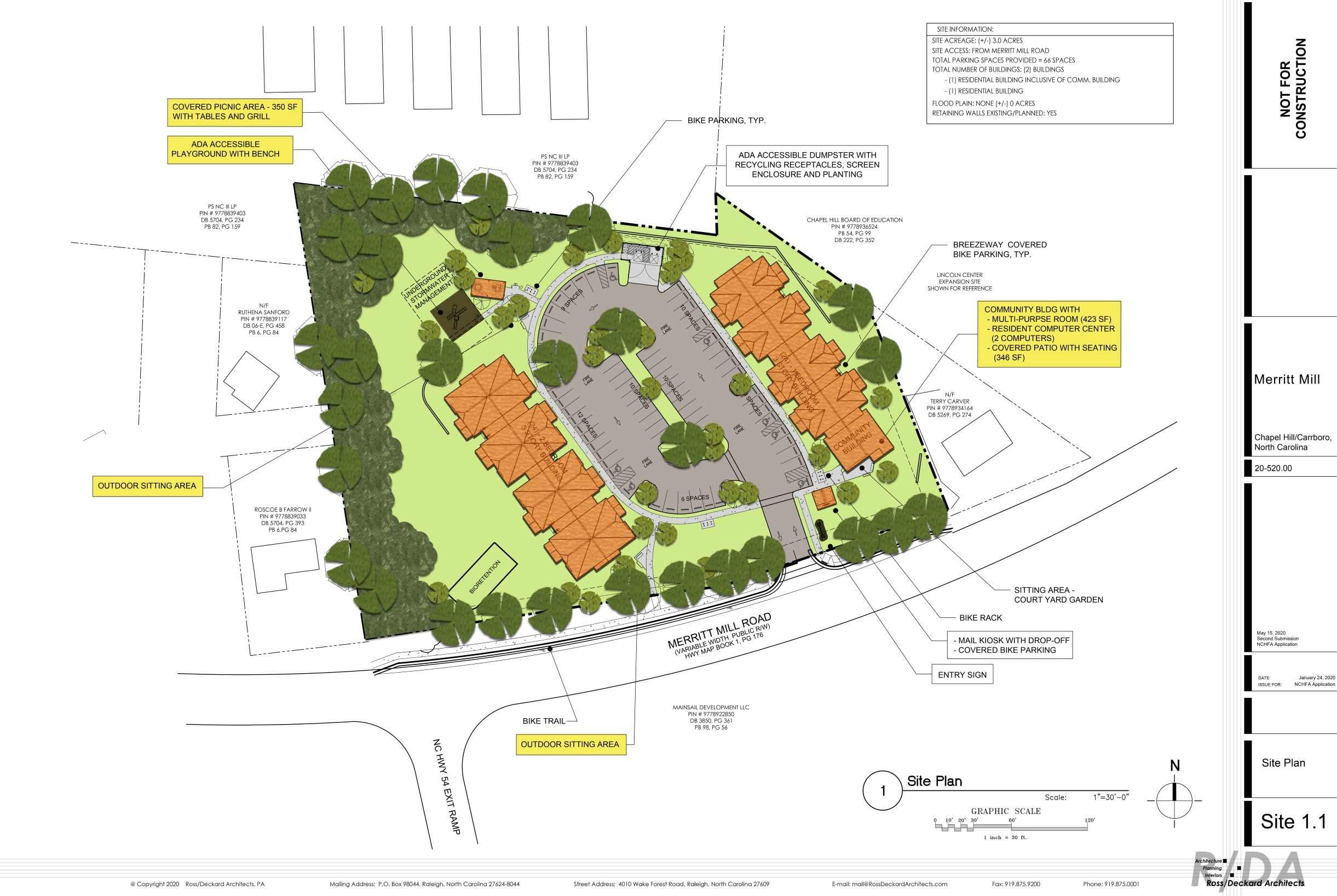 Merritt Mill Site Plan
