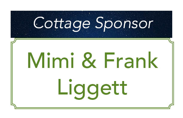 Mimi and Frank Liggett, Cottage Sponsor