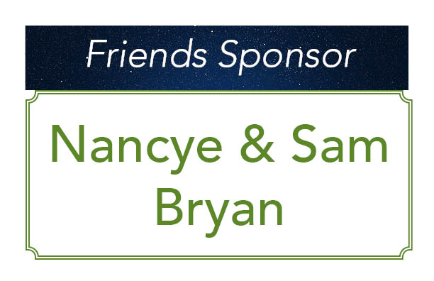 Nancye and Sam Bryan, Friends Sponsor