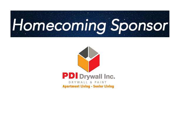 PDI Drywall, Homecoming sponsor