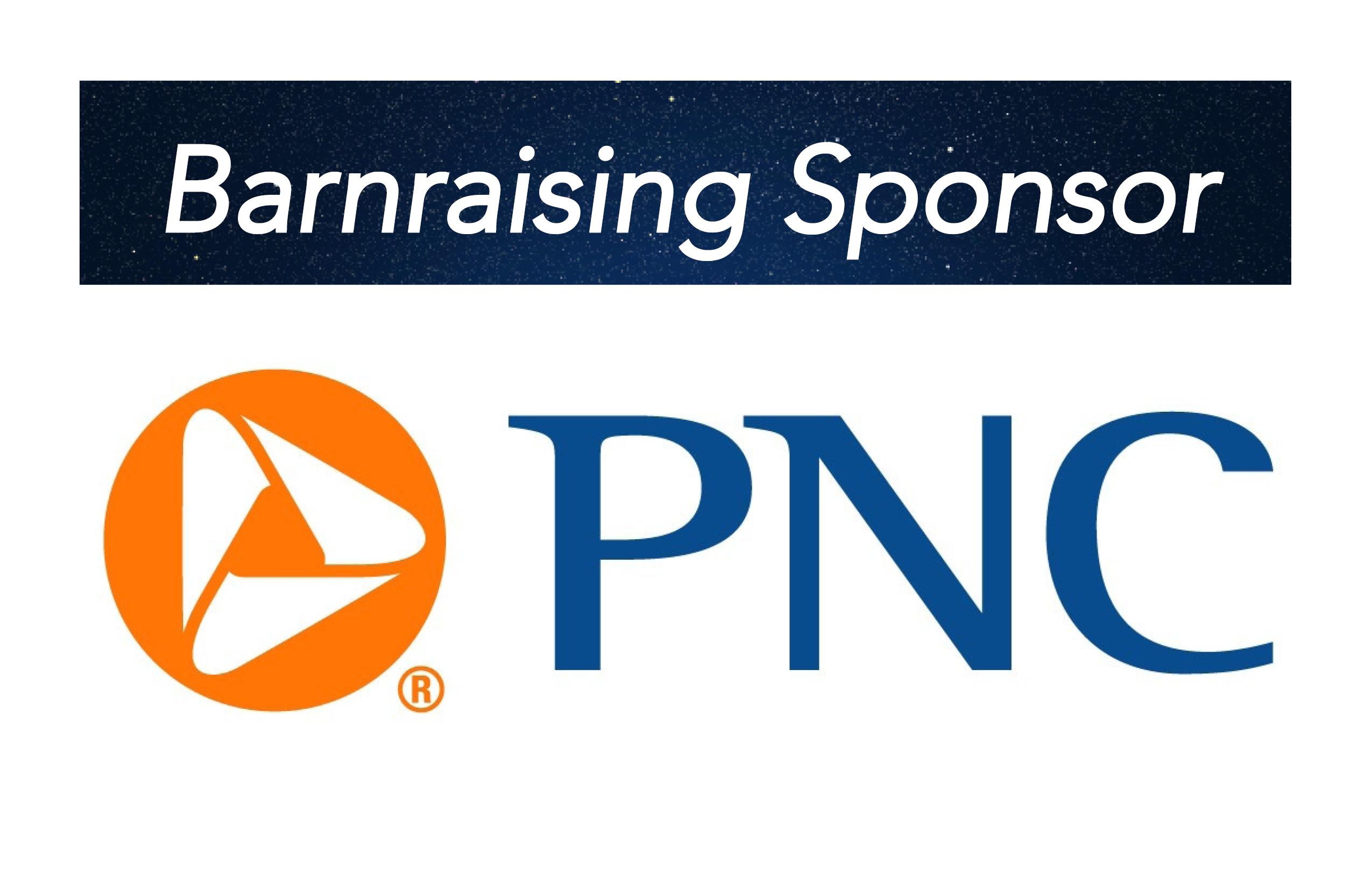 PNC Bank, Barnraising Sponsor