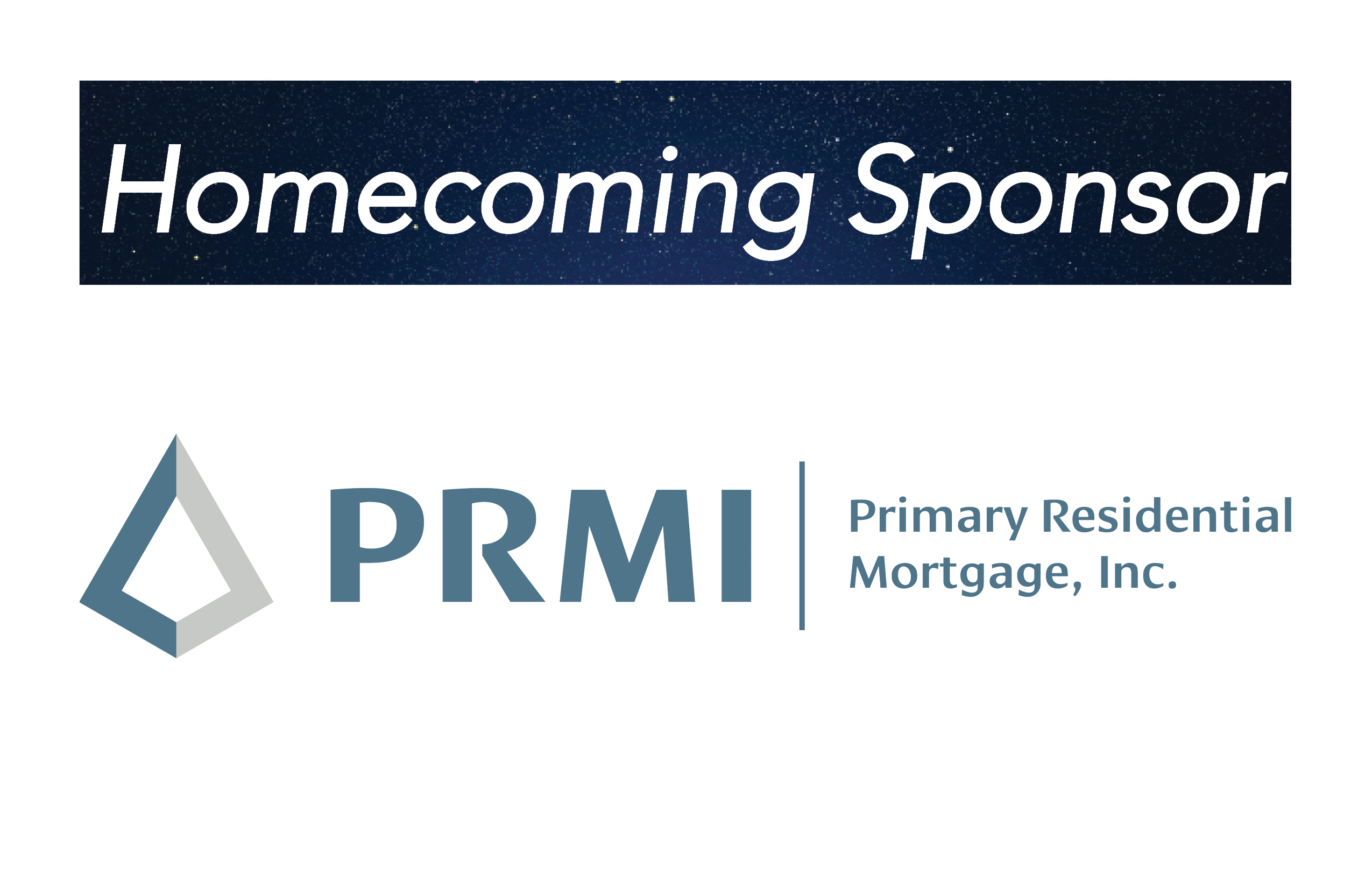 PRMI Homecoming Sponsor