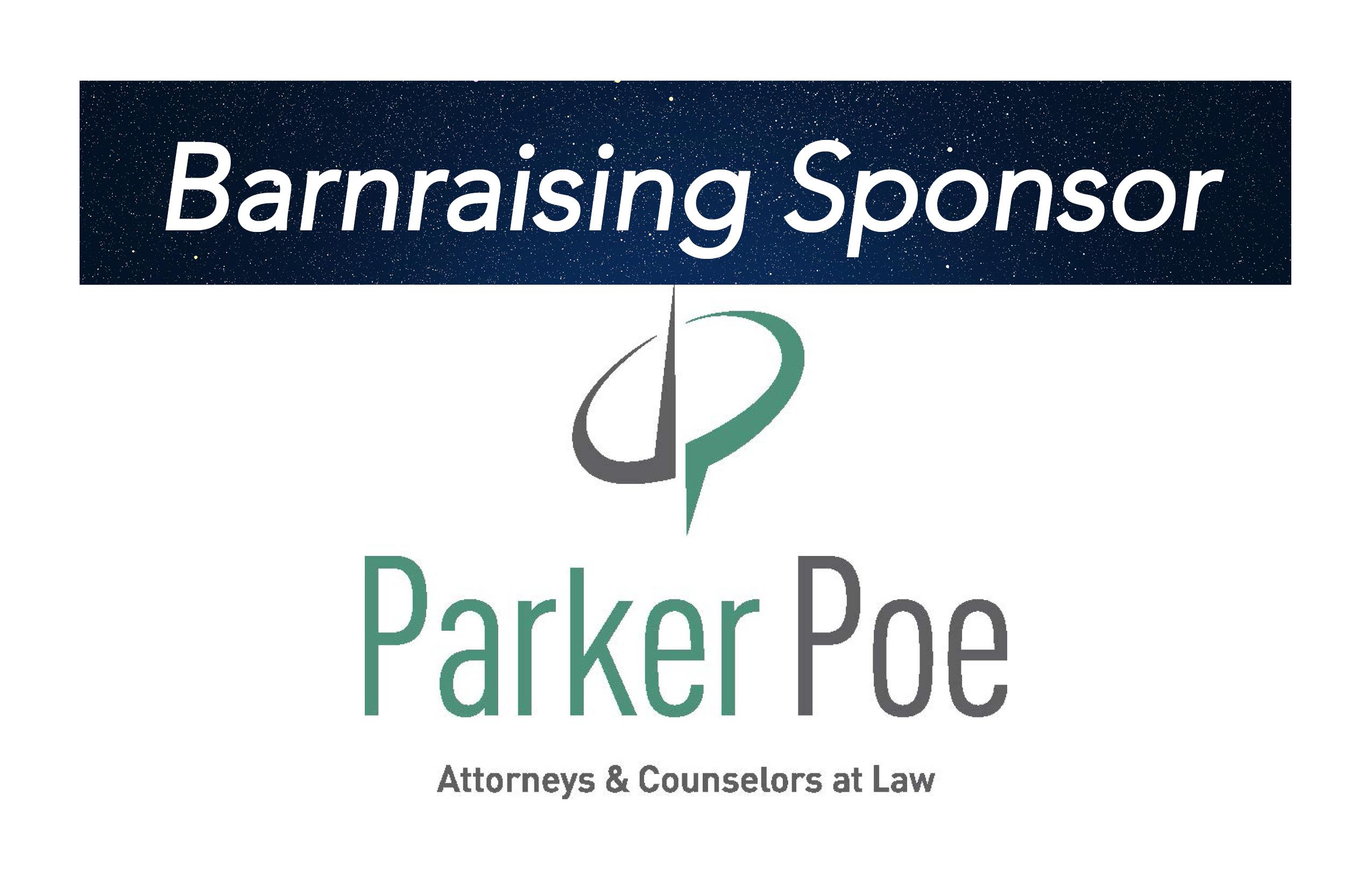 Parker Poe, Barnraising Sponsor