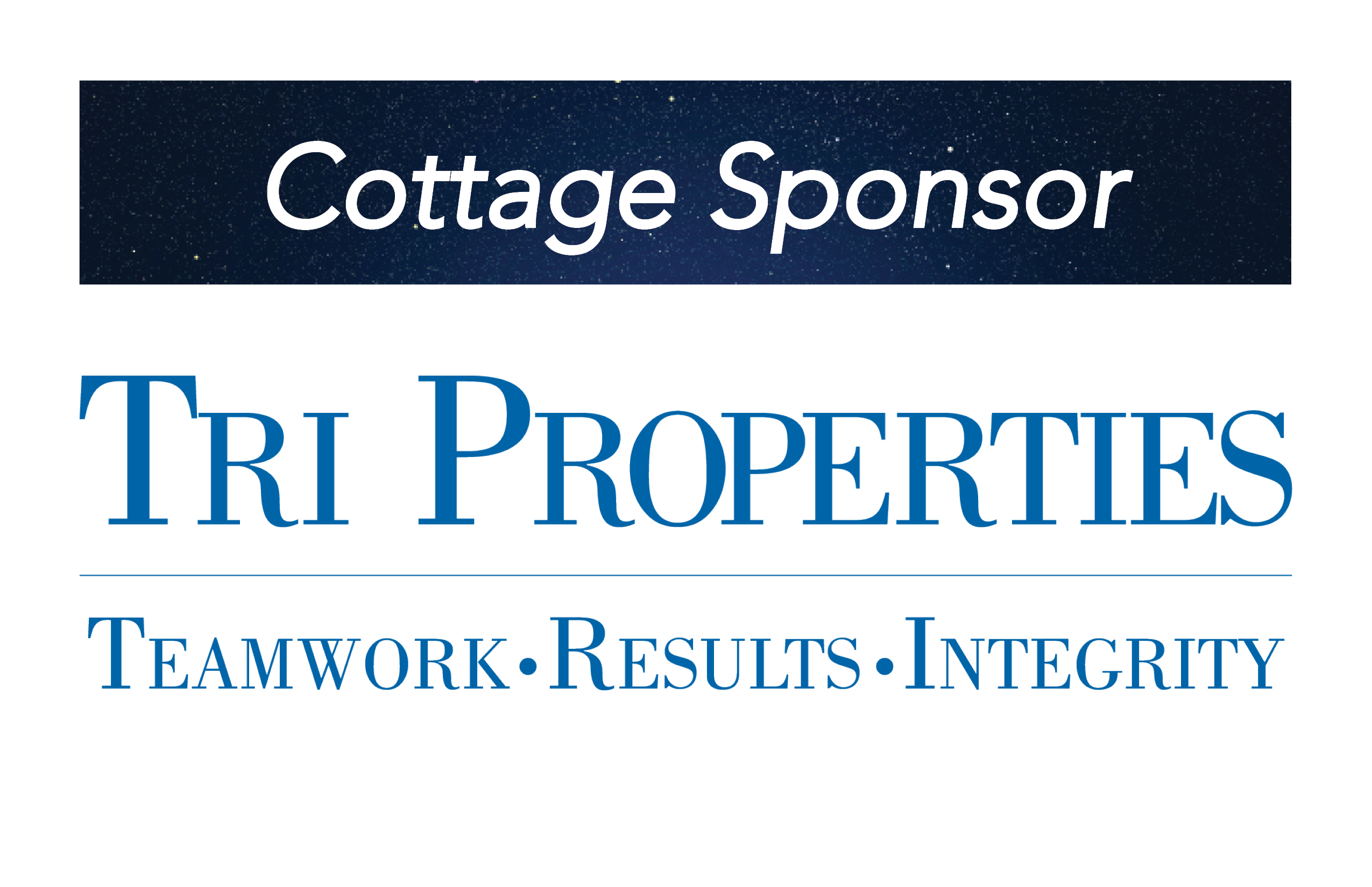 Tri Properties, Cottage Sponsor