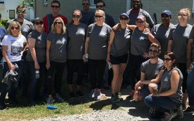 Volunteers Unite to Restore Knightdale Housing