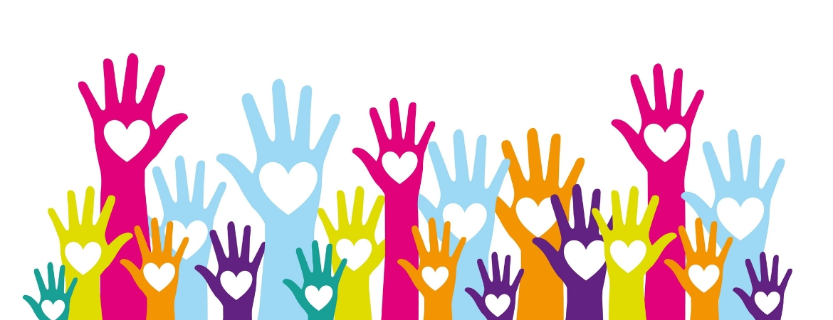 Volunteer hands in a blog post about CASA's 2018 in Review.