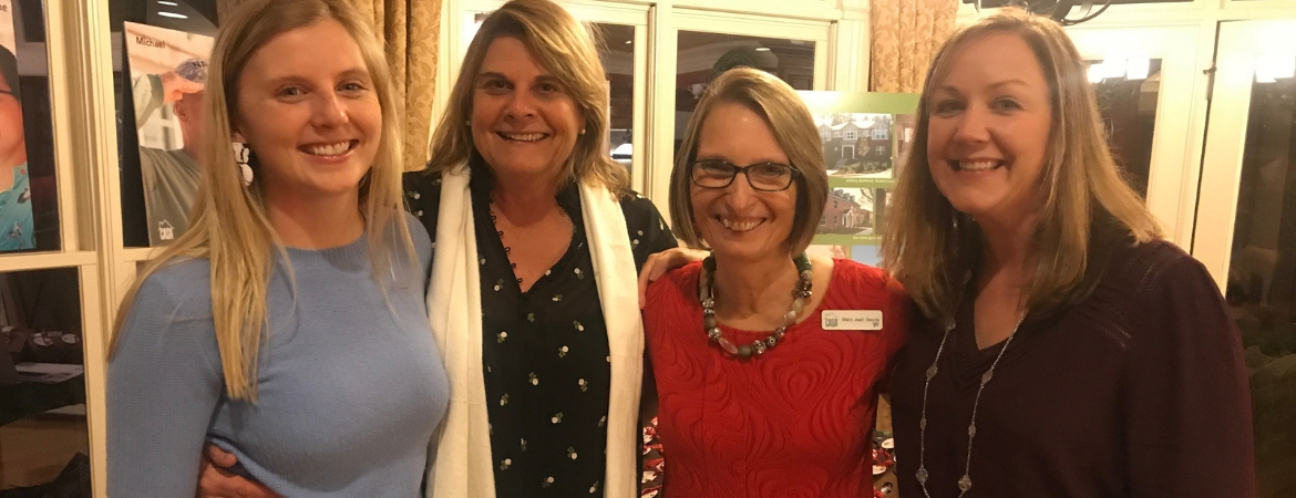 CASA team members at the 2018 Raleigh Giving Party.